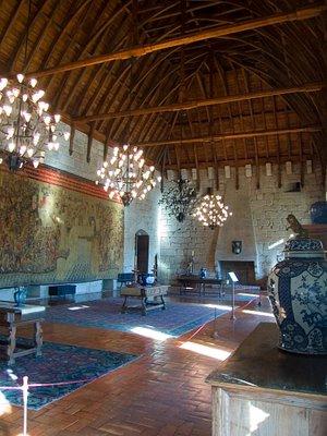 Guimarães interior do Paço dos duques