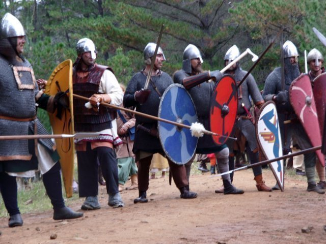 Saxon Huscarls