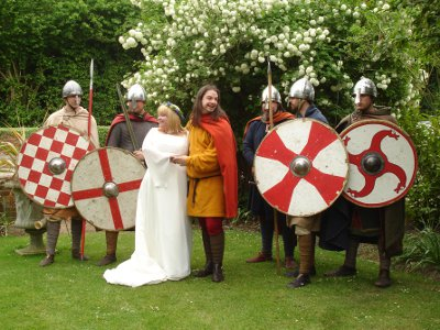 Anglo-Saxon wedding
